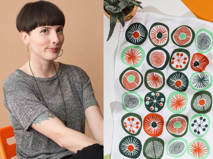 Vikki Wiercinski - Mezzaluna Studio Royal Bison - 41 Edmonton Area Women Artists Makers Creators Business Owners - Explore Edmonton