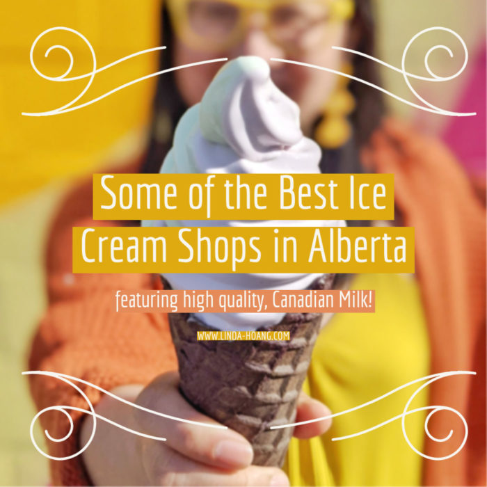 Alberta Milk - Hanna Holstein - Cow Influencer - Best Ice Cream Shops Calgary Edmonton