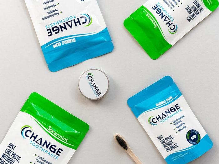 Change Toothpaste 2 - Environmentally Friendly - Eco-Friendly - Sustainable - Businesses - Edmonton Alberta