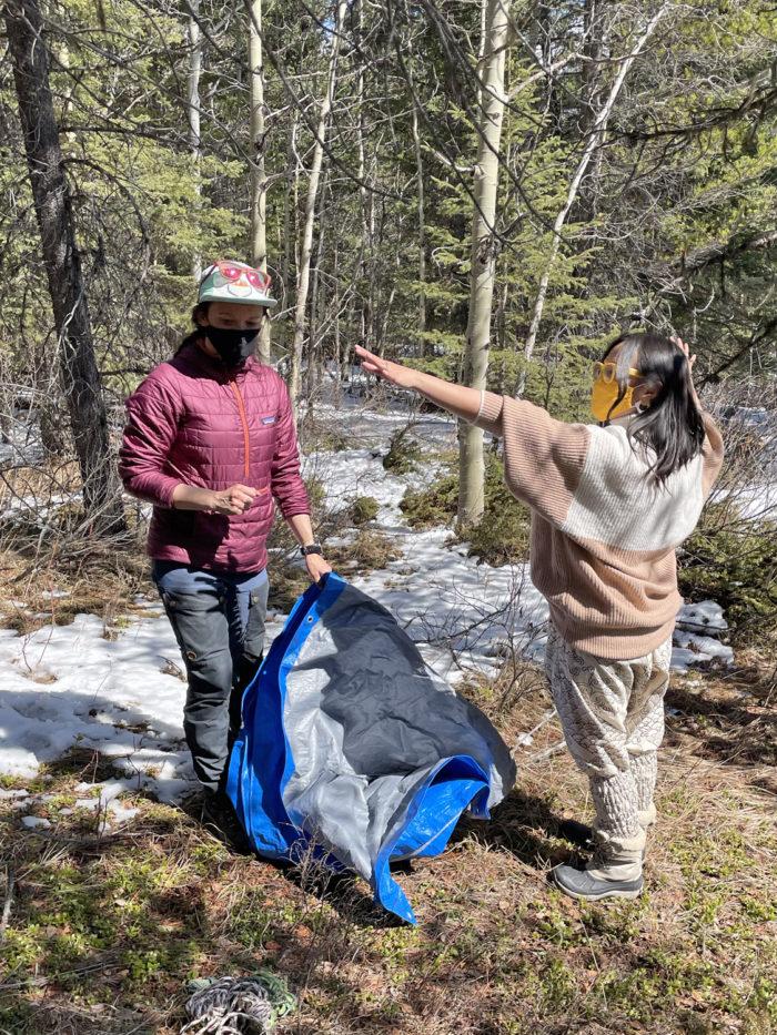 Explore Canmore Kananaskis - Travel Alberta - Pomeroy Kananaskis Lodge Kananaskis Outfitters Guided Survival Hike 3