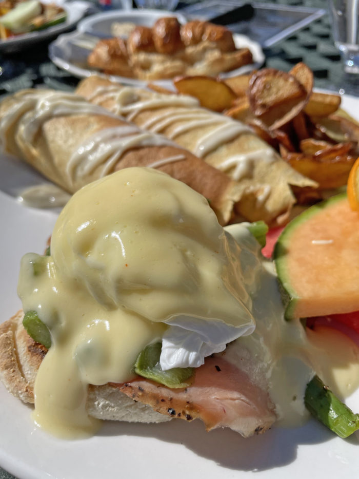 Explore Canmore Kananaskis - Travel Alberta - Town of Canmore - Chez Francios French Restaurant Brunch