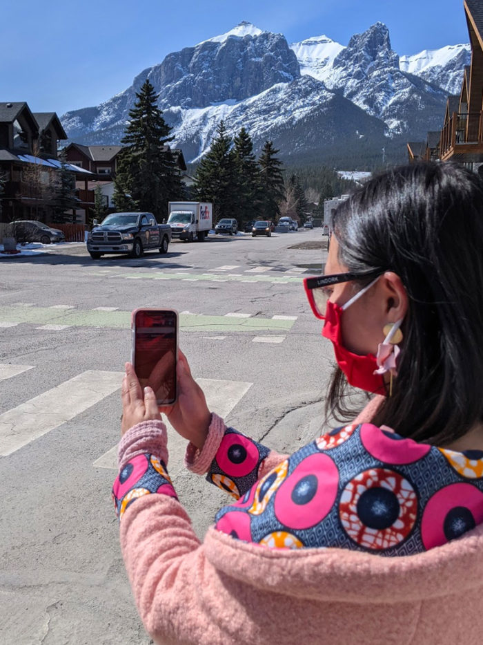 Explore Canmore Kananaskis - Travel Alberta - Town of Canmore - Downtown Canmore Main Street Activity Scavenger hunt Mystery Town 3