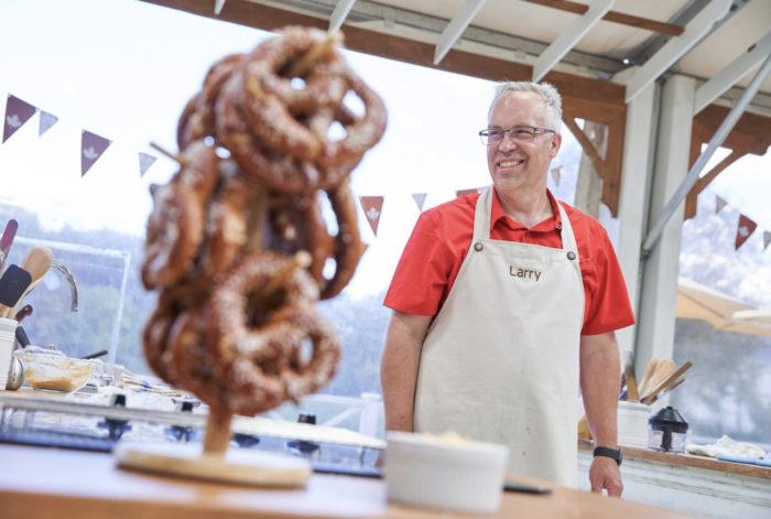 Larry Harris - Bonne View Bakery - Edmonton Baker Food