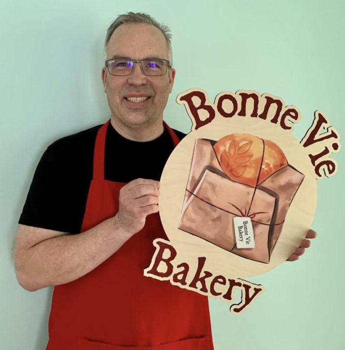 Larry Harris - Bonne View Bakery - Edmonton Baker Food 2