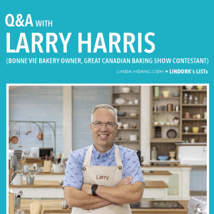 Q&A with Larry Harris - Great Canadian Baking Show