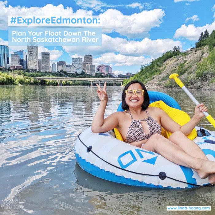 Floating Kayaking Water Activities on the North Saskatchewan River Edmonton - Explore Edmonton - Travel Alberta - Bask on the Sask 11