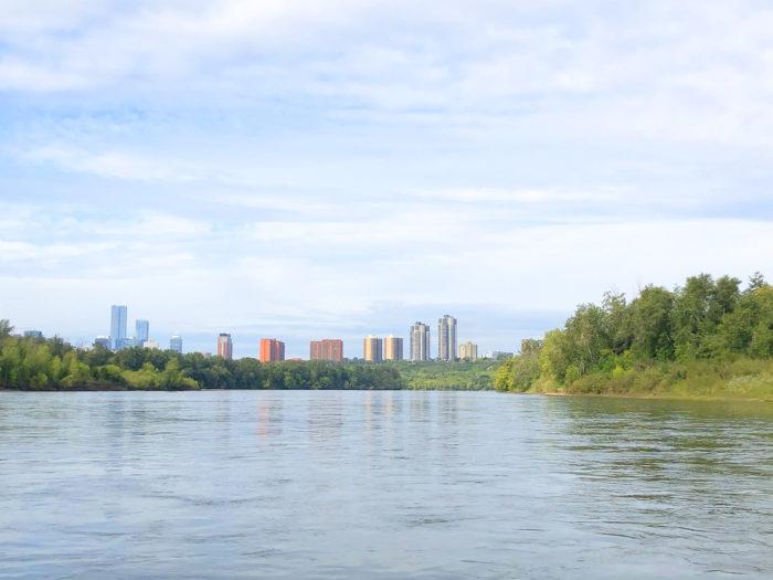 Floating Kayaking Water Activities on the North Saskatchewan River Edmonton - Explore Edmonton - Travel Alberta - Bask on the Sask 12