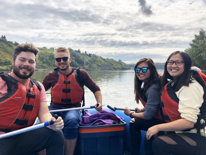 Floating Kayaking Water Activities on the North Saskatchewan River Edmonton - Explore Edmonton - Travel Alberta - Bask on the Sask 13