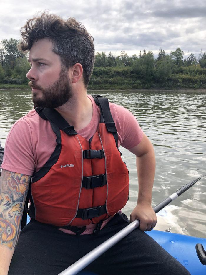 Floating Kayaking Water Activities on the North Saskatchewan River Edmonton - Explore Edmonton - Travel Alberta - Bask on the Sask 14