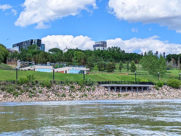 Floating Kayaking Water Activities on the North Saskatchewan River Edmonton - Explore Edmonton - Travel Alberta - Bask on the Sask 5