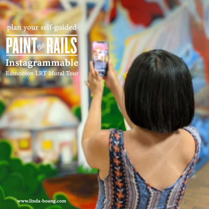 Paint the Rails - The John Humphrey Centre - Explore Edmonton Murals Art Project 0