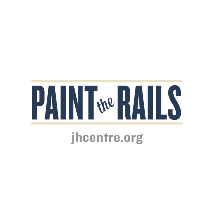 Paint the Rails - The John Humphrey Centre - Explore Edmonton Murals Art Project 1