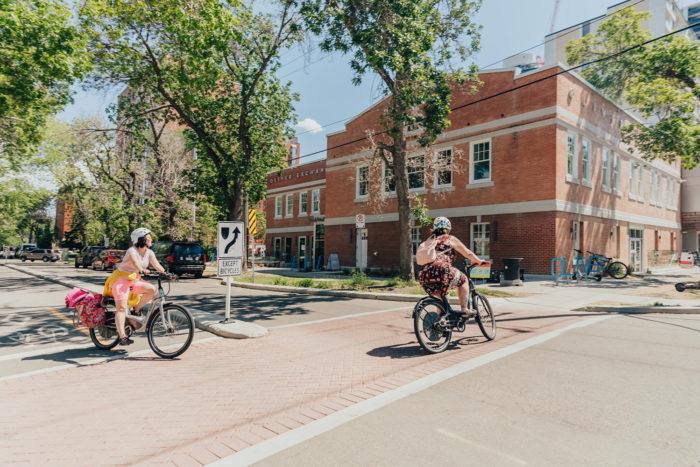 Biking Edmonton - Bike Alberta - Explore Canada - Explore Edmonton - ZenSeekers - Cycling in the City - Edmonton Food Landmarks Neighbourhoods 1