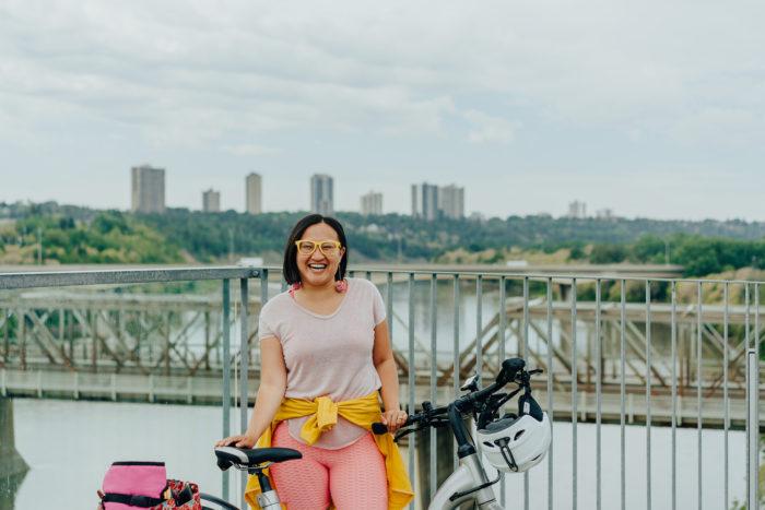 Biking Edmonton - Bike Alberta - Explore Canada - Explore Edmonton - ZenSeekers - Cycling in the City - Edmonton Food Landmarks Neighbourhoods - River Valley 4