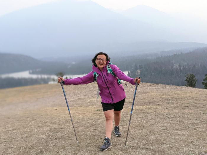 Explore Alberta - Tourism Jasper - Jasper National Park - Explore Canada - Jasper Food Tours - Peak-Nic - Hiking - Old Fort Point Trail