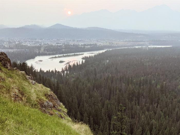 Explore Alberta - Tourism Jasper - Jasper National Park - Explore Canada - Jasper Food Tours - Peak-Nic - Hiking - Old Fort Point Trail 2