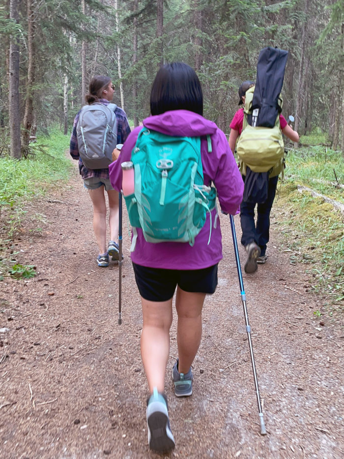 Explore Alberta - Tourism Jasper - Jasper National Park - Explore Canada - Jasper Food Tours - Peak-Nic - Hiking - Old Fort Point Trail 4