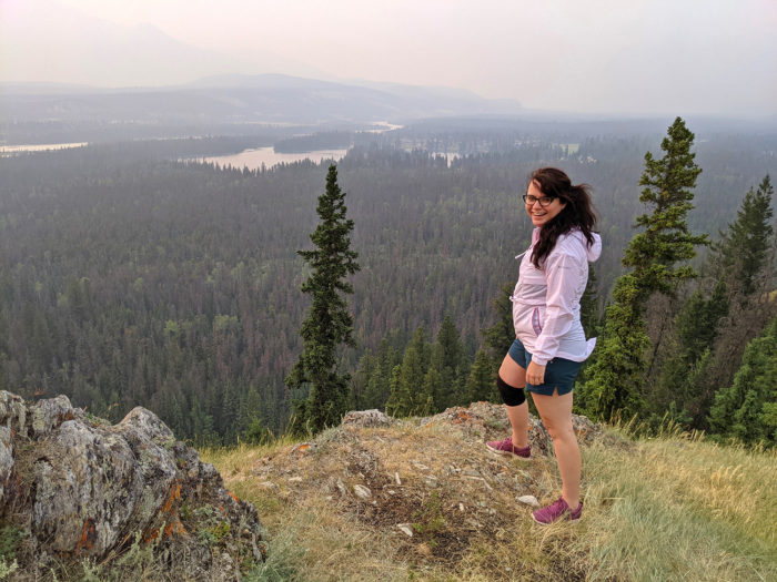 Explore Alberta - Tourism Jasper - Jasper National Park - Explore Canada - Jasper Food Tours - Peak-Nic - Hiking - Old Fort Point Trail 7