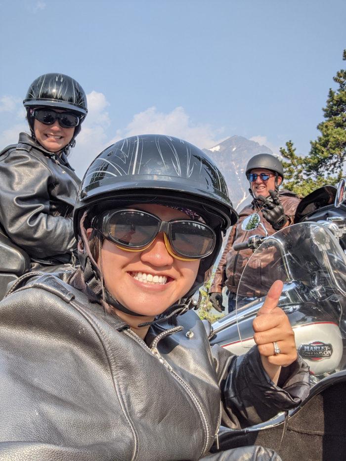 Explore Alberta - Tourism Jasper - Jasper National Park - Explore Canada - Jasper Motorcycle Tours - Sidecar Ride - Harley Davidson 4