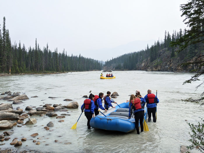 Explore Alberta - Tourism Jasper - Jasper National Park - Explore Canada - White Water Rafting Jasper Rafting Adventures 5