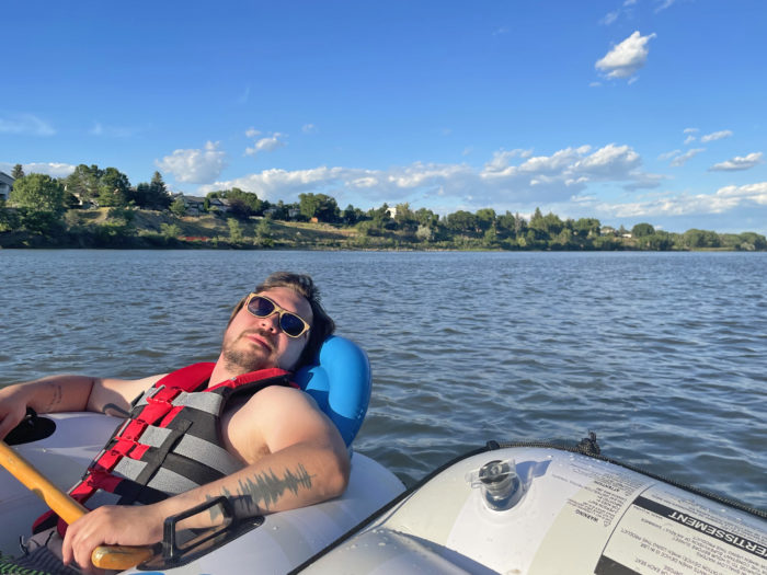 Explore Alberta - Travel - Medicine Hat - Southern Alberta - South Saskatchewan River Float 3