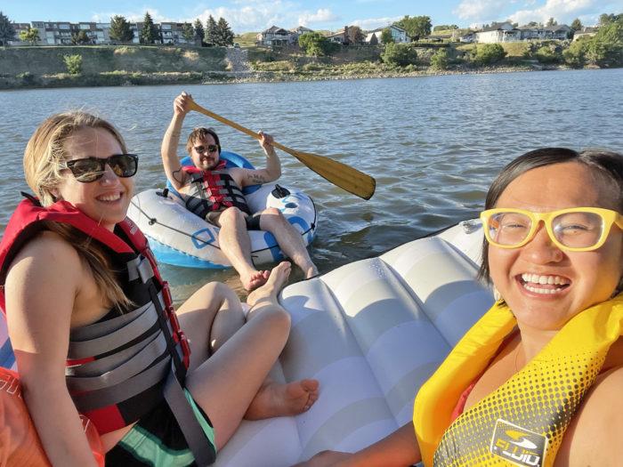 Explore Alberta - Travel - Medicine Hat - Southern Alberta - South Saskatchewan River Float 4