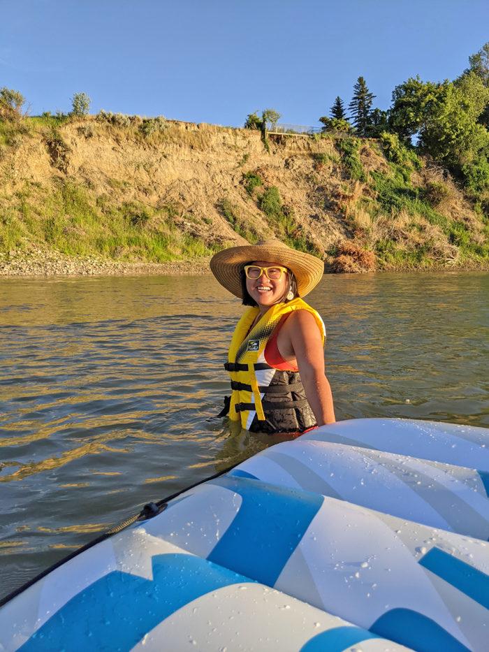 Explore Alberta - Travel - Medicine Hat - Southern Alberta - South Saskatchewan River Float 6