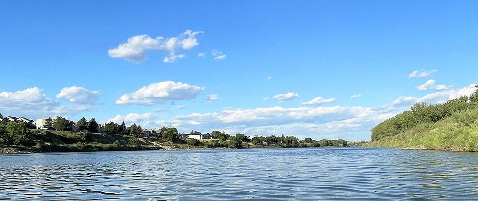 Explore Alberta - Travel - Medicine Hat - Southern Alberta - South Saskatchewan River Float1