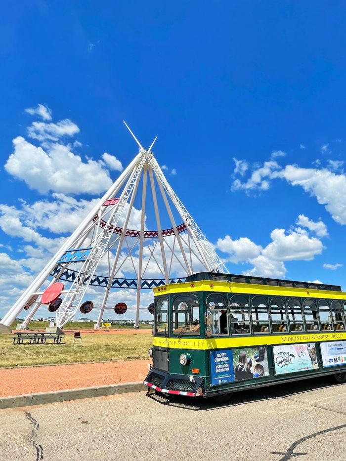 Explore Alberta - Travel - Medicine Hat - Southern Alberta - Sunshine Trolley 3
