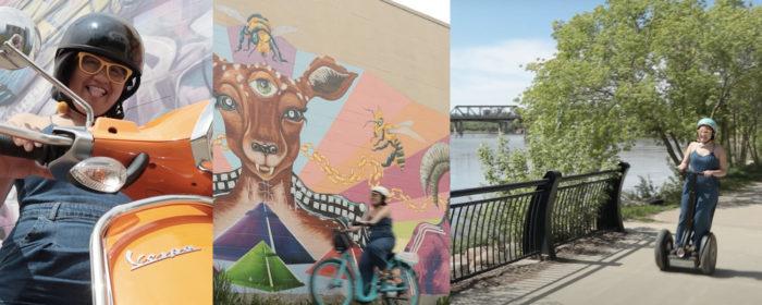 Explore Edmonton - Travel Alberta - Wheeling Around Edmonton