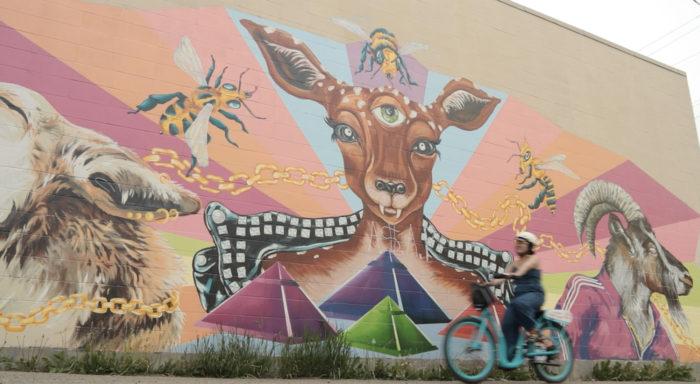 Explore Edmonton - Travel Alberta - Wheeling Around Edmonton - Pedego Canada Electric Bike E-Bike Rental Old Strathcona