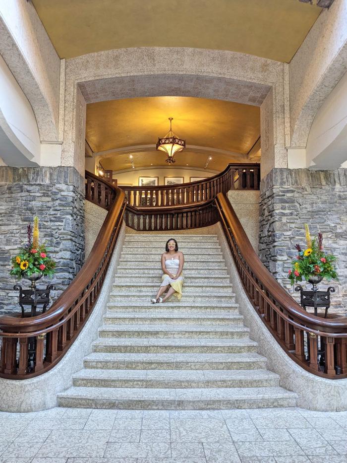Instagrammable Fairmont Banff Springs Resort Hotel - Photo Spots - Explore Alberta - 24