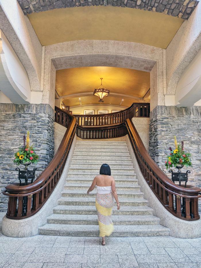 Instagrammable Fairmont Banff Springs Resort Hotel - Photo Spots - Explore Alberta - 9