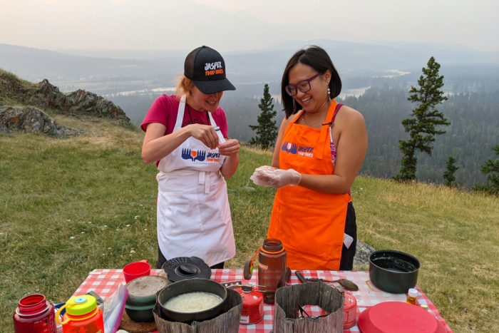 Jasper Food Tours - Peak-nic - Jasper Alberta - Explore Alberta - Travel - Jasper National Park - Food Experiences - Guided Tours - Hiking