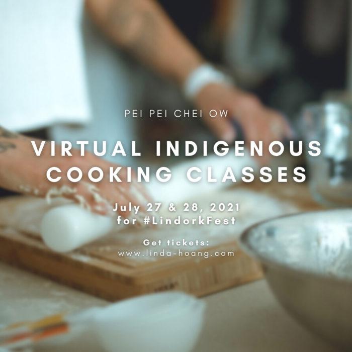 Pei Pei Chei Ow Virtual Indigenous Cooking Class 3 - Explore Edmonton - Food