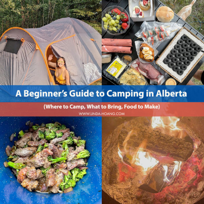 Beginners Guide - Camping in Alberta - Travel - Explore Alberta - Tips - campgrounds - camp food - Campers Village Partner