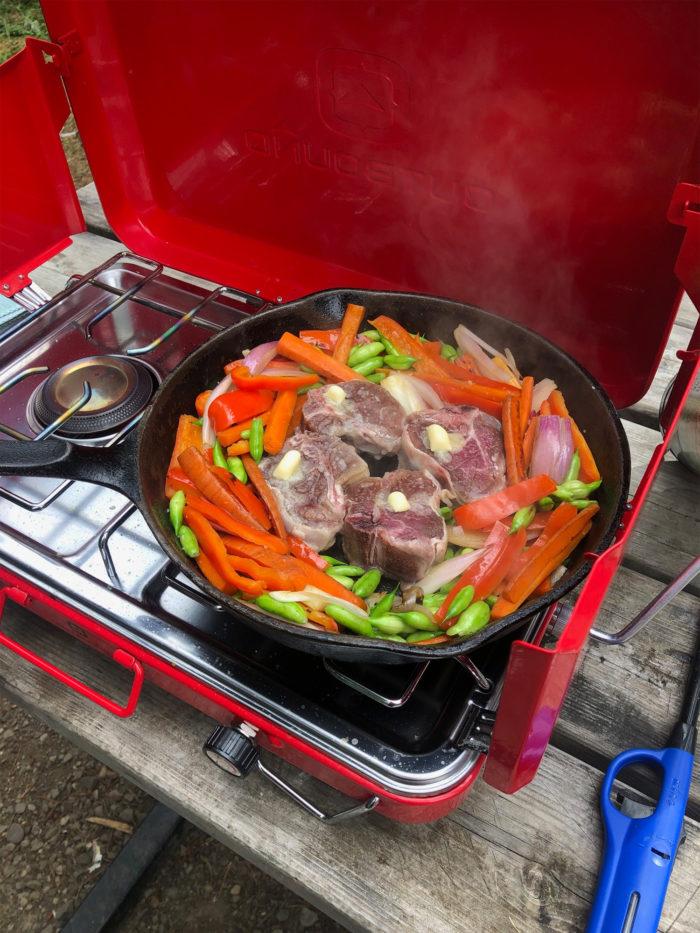 Lamb Chop and Vegetables - regularflavelle