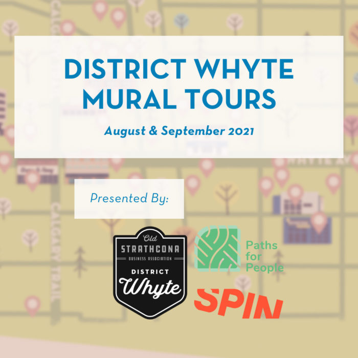 Old Strathcona Instagrammable Wall Tours Mural Map Explore Edmonton