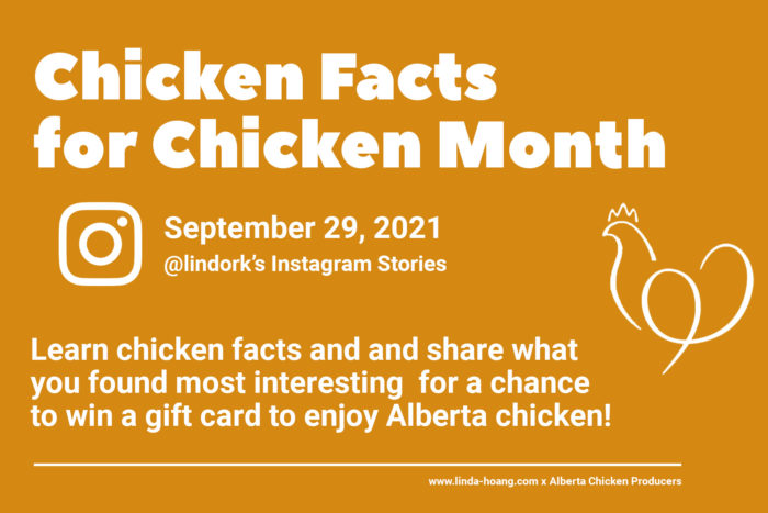 Alberta Chicken Producers - Ten Chicken Dishes to Try in Edmonton and Calgary - Facts