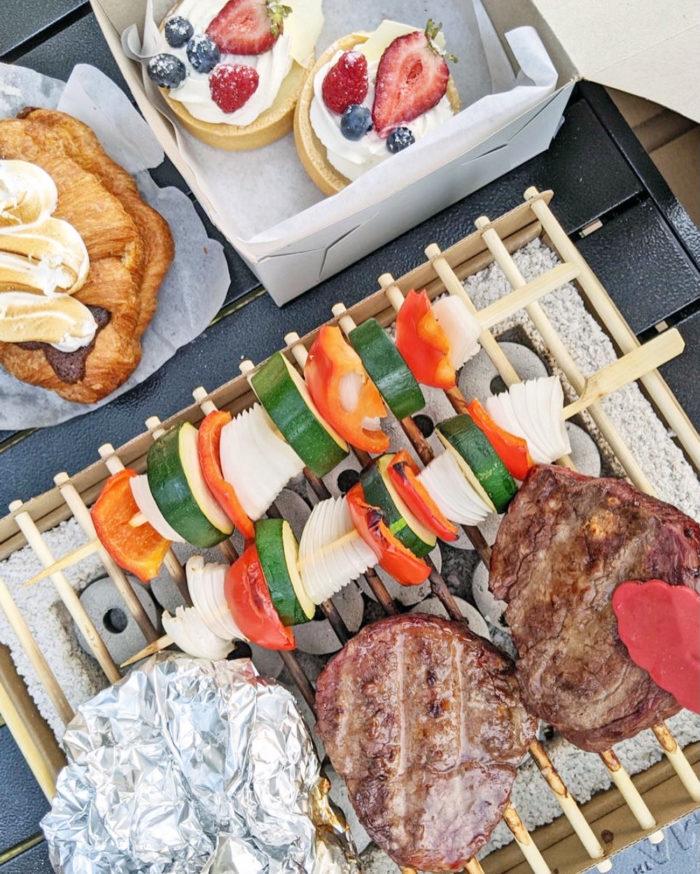 CasusGrill Chef Table Living Ecofriendly BBQ