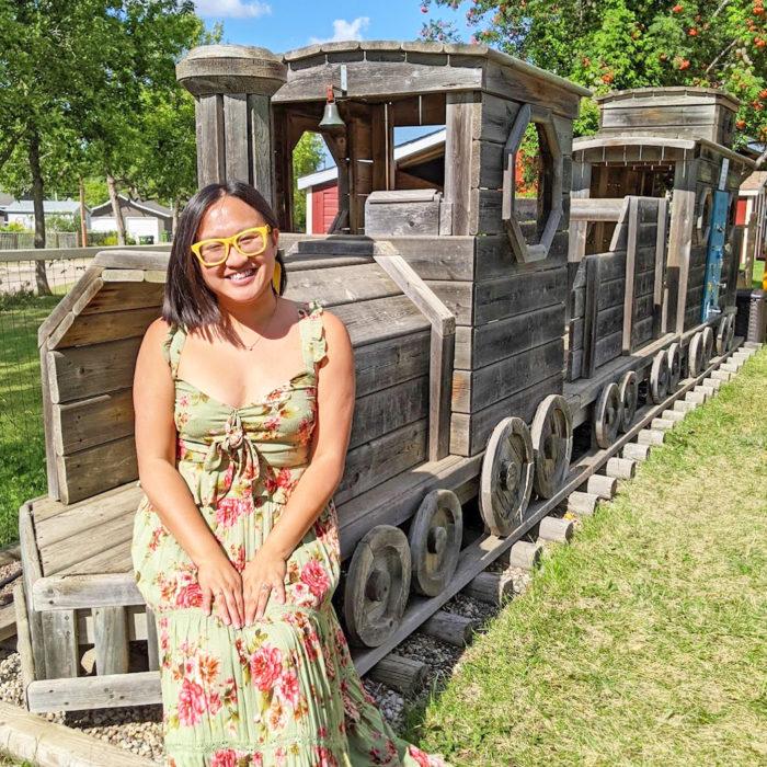 Explore Camrose Go East of Edmonton City of Camrose Explore Alberta Travel Day Trip Camrose Railway Museum and Park Garden
