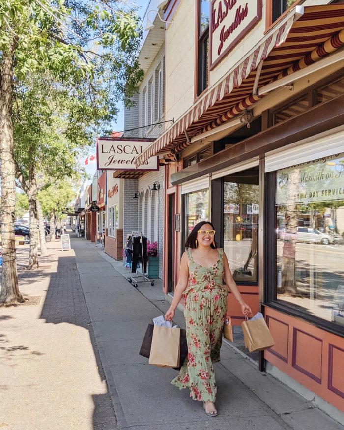 Explore Camrose - Go East of Edmonton - City of Camrose - Explore Alberta - Travel - Day Trip - Downtown Camrose Shopping 1