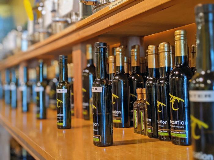 Explore Camrose - Go East of Edmonton - City of Camrose - Explore Alberta - Travel - Day Trip - Downtown Camrose - Vinesation Olive Oil