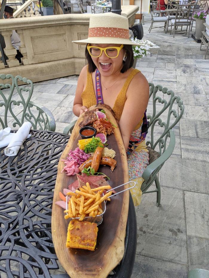 Fairmont Hotel Macdonald BBQ Platter