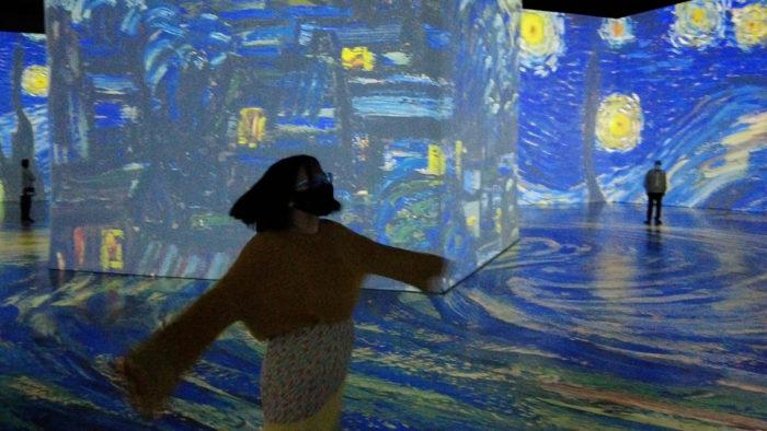 Imagine Van Gogh - Explore Edmonton - Experience Vincent Van Gogh - Art - Travel - Exhibit - Immersive Experience
