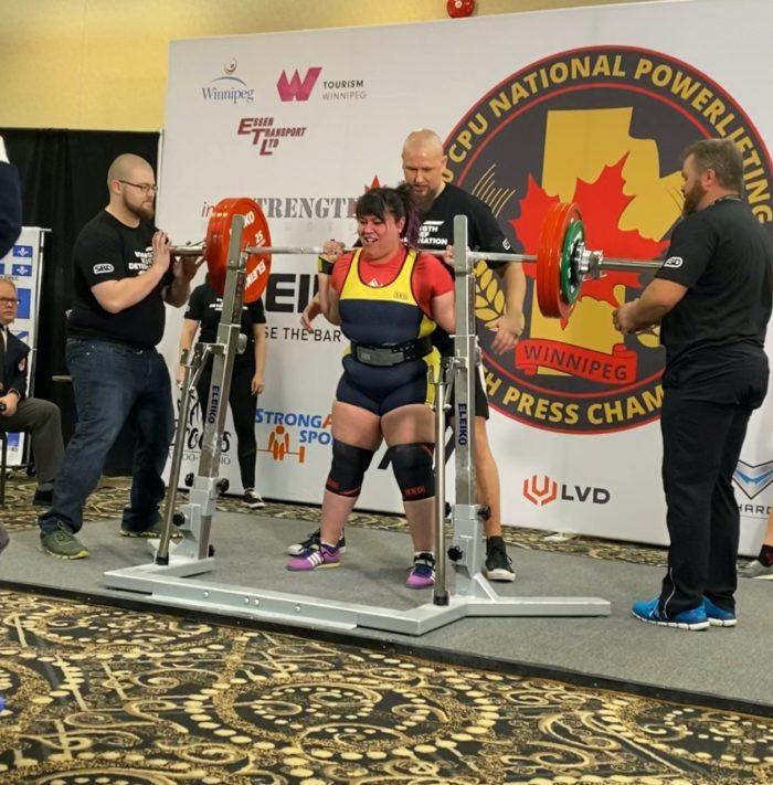 Lanie Bishop - Lindorks Lists Q&A - Edmonton - Power Lifter