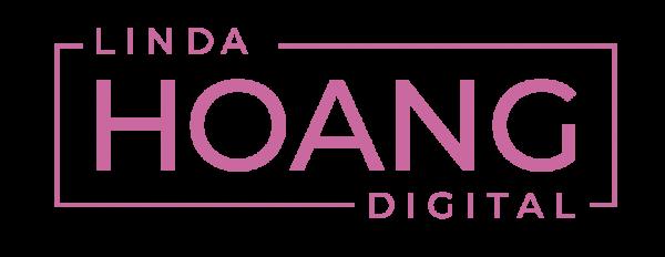 Linda Hoang Digital Logo Pink